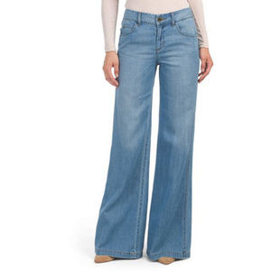 Level 99 Tyler Twisted Wide Leg Jeans Size 28 NWT